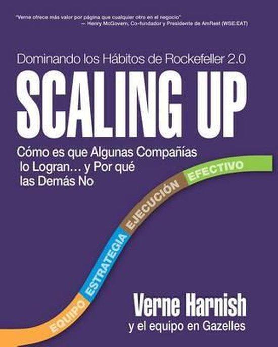 Boek cover Scaling Up (Dominando los Habitos de Rockefeller 2.0) van Verne Harnish (Hardcover)