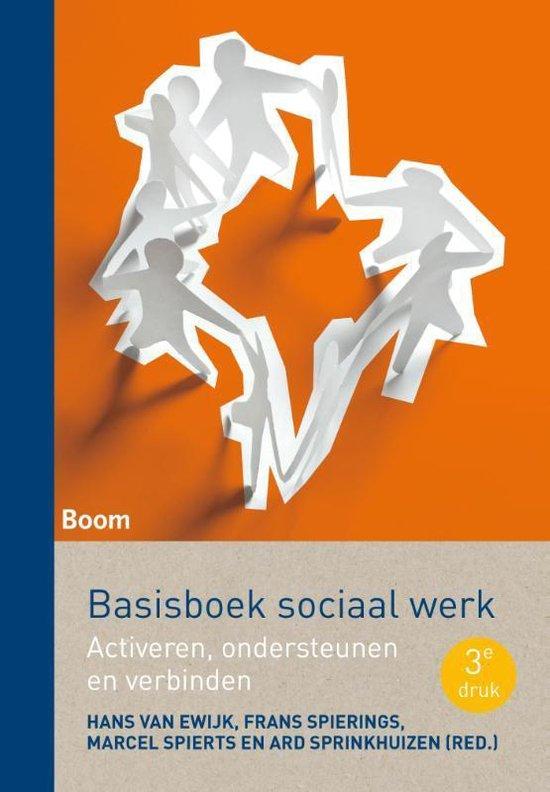 Boek cover Basisboek sociaal werk van Hans van Ewijk (Paperback)