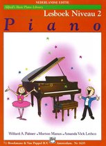 Boek cover Alfreds Basic Piano Library | Lesboek Niveau 2 van Willard A. Palmer / Morton Manus
