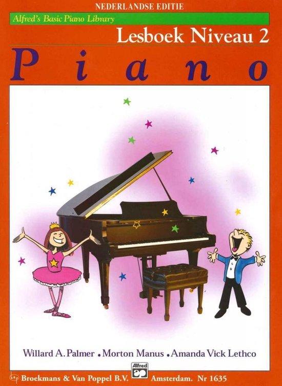 Boek cover Alfreds Basic Piano Library | Lesboek Niveau 2 van Willard A. Palmer / Morton Manus (Paperback)