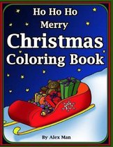 Ho Ho Ho Merry Christmas Coloring Book