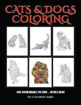 A Coloring Book (Cats and Dogs)