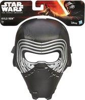 Star Wars Kylo Ren masker - Zwart - Kunststof
