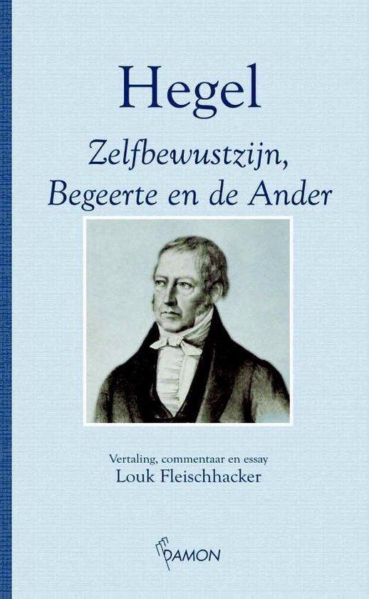 Cover van het boek 'Zelfbewustzijn, begeerte en de ander / druk 1'