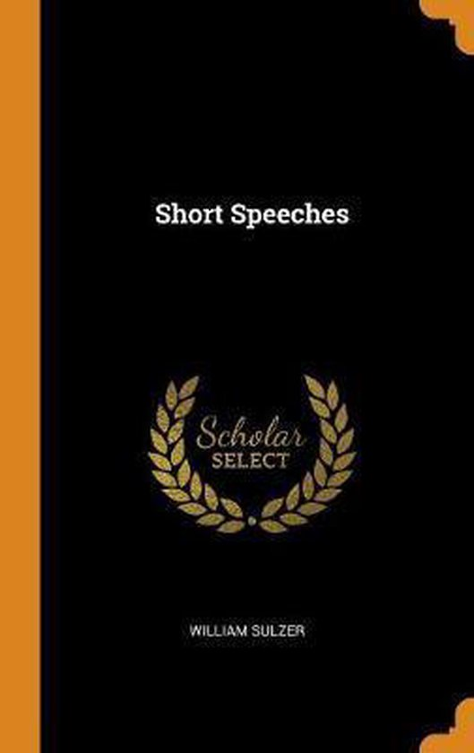 Short Speeches