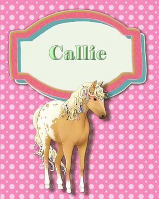 Handwriting and Illustration Story Paper 120 Pages Callie