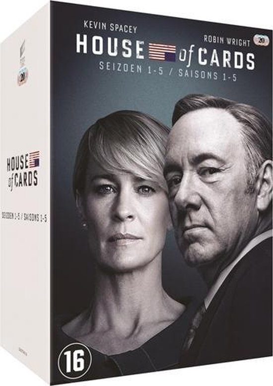 House Of Cards - Seizoen 1 t/m 5
