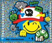 Vriendenboekje - Smiley World - jongens - blauw - 17,5 x 21 cm