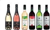 Vintense Alcoholvrije Wijn Assorti - ProefPakket 6 flessen