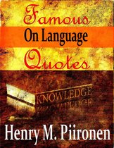 Famous Quotes on Language