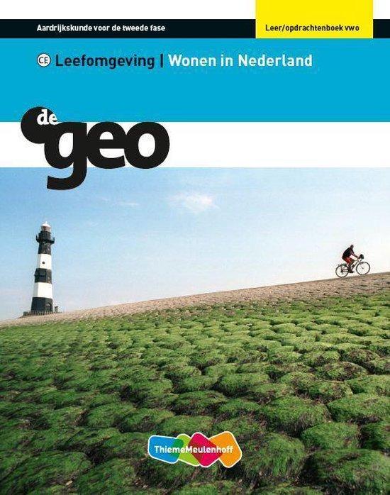 Leer- en opdrachtenboek Vwo Wonen in Nederland De Geo - Hugo Bousset pdf epub