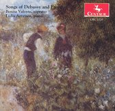 Songs of Debussy and Faure / Valente, Artmiw