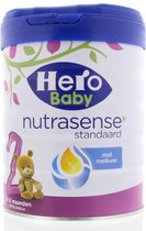 Hero Baby 2 Nutrasense Standaard - Flesvoeding - 800 gram