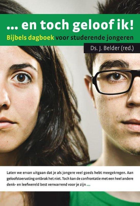 Cover van het boek '... en toch geloof ik!' van J. Belder