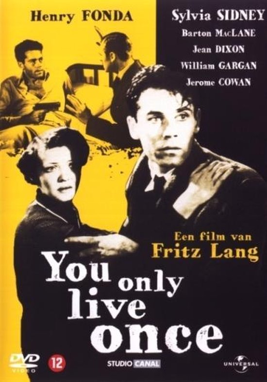 Cover van de film 'You Only Live Once'