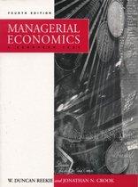 Boek cover Managerial Economics van Duncan Reekie