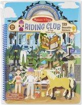 Luxe stickerboek paarden manege