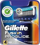 Gillette Fusion Proglide Manual - 4 stuks - Scheermesjes