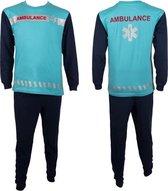 Fun2Wear Ambulance Pyjama Blauw maat 68