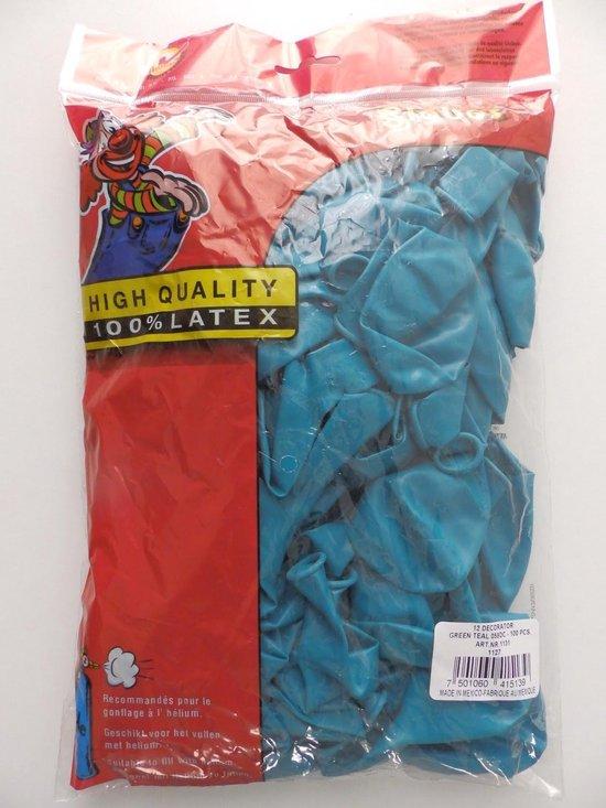 Ballonnen 100 stuks Turquoise
