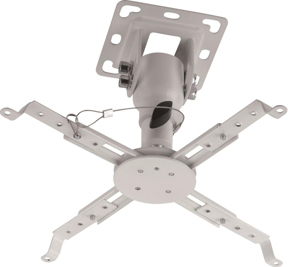 Full Motion Universele Beamer Plafondbeugel - Plafond Steun Ophang Beugel - Draaibaar En Kantelbaar