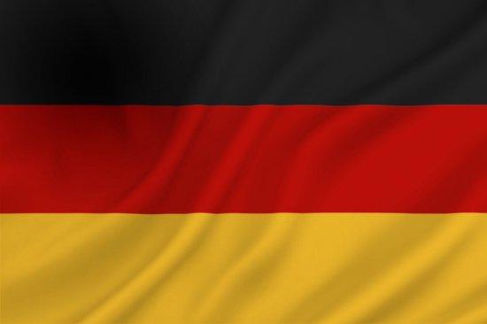 bol.com | Dokkumer Vlaggen Centrale - Duitse vlag - 100 x 150 cm