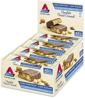 Atkins Maaltijdrepen - Chocolate Peanut Caramel - 60 gram - 16 stuks