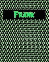 120 Page Handwriting Practice Book with Green Alien Cover Frank