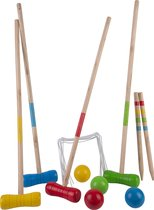 Croquetset voor 4 spelers - 70 cm - inclusief draagtas