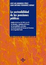 La sostenibilidad de las pensiones públicas