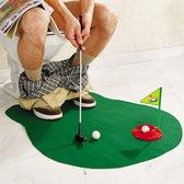 MikaMax Toilet Golf - Speelgoedgolfset - Speelgoed – Golfset