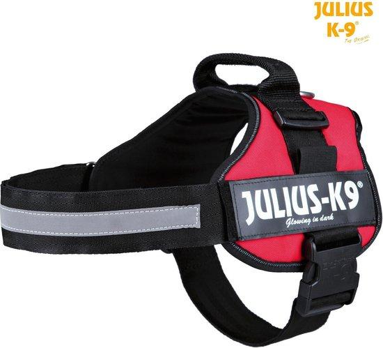 Julius K9 IDC Powertuig/Harnas - Maat 2/71-96cm - XL - Rood