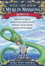 Magic Tree House Merlin Missions Books 1-4