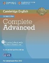Complete Advanced - Second edition. Teacher's Book with Teacher's Resources CD-ROM