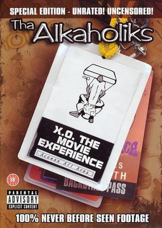 Cover van de film 'Alkaholiks - X.O. The Movie Experience'