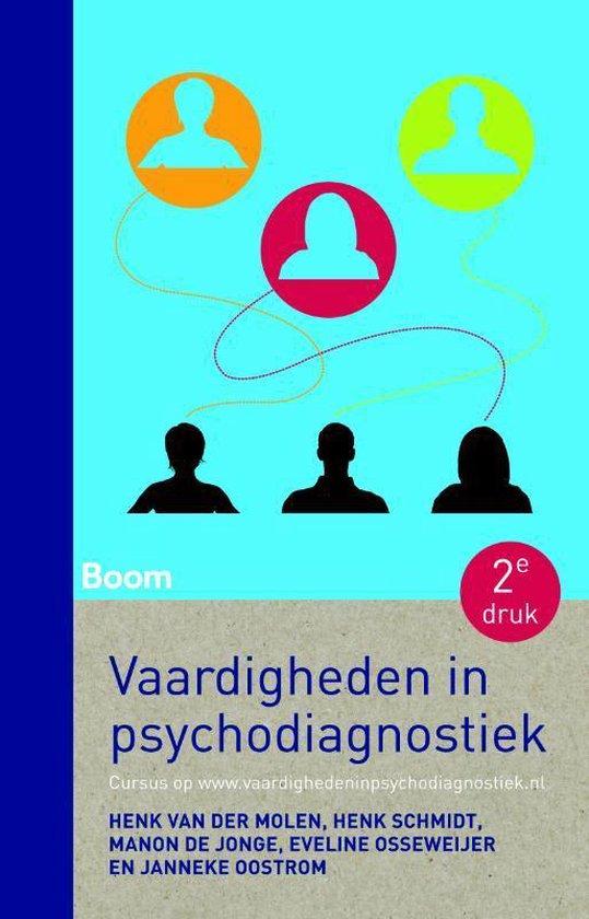 Vaardigheden in psychodiagnostiek - Henk van der Molen |
