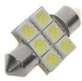 Dome 6 LED C5W SMD Auto Interieur Lamp 31mm