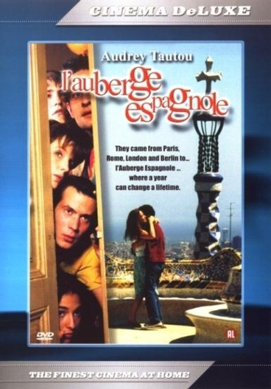 Cover van de film 'L'Auberge Espagnole'