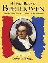 Boek cover My First Book Of Beethoven van David Dutkanicz