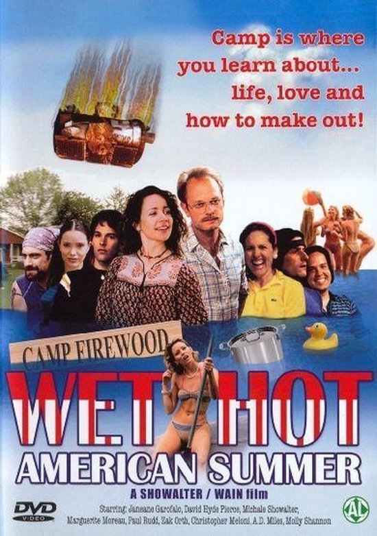 Speelfilm - Wet Hot American Summer