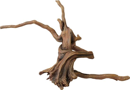 Aqua d'ella - Aquariumhout - Driftwood 3 - 34x19.5x14 cm - Bruin