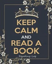 Keep Calm and Read a Book - Reading Log