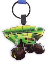 Gosh! Designs Sleutelhanger Led Monstertruck Pickle 6 Cm Groen