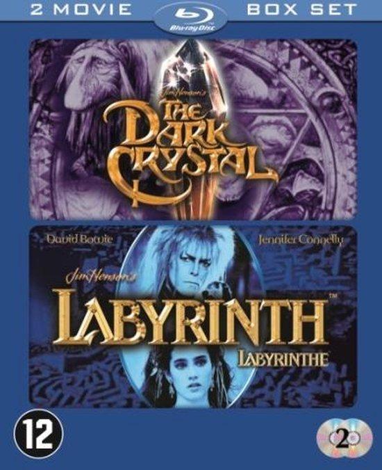 Cover van de film 'Dark Crystal/Labyrinth'