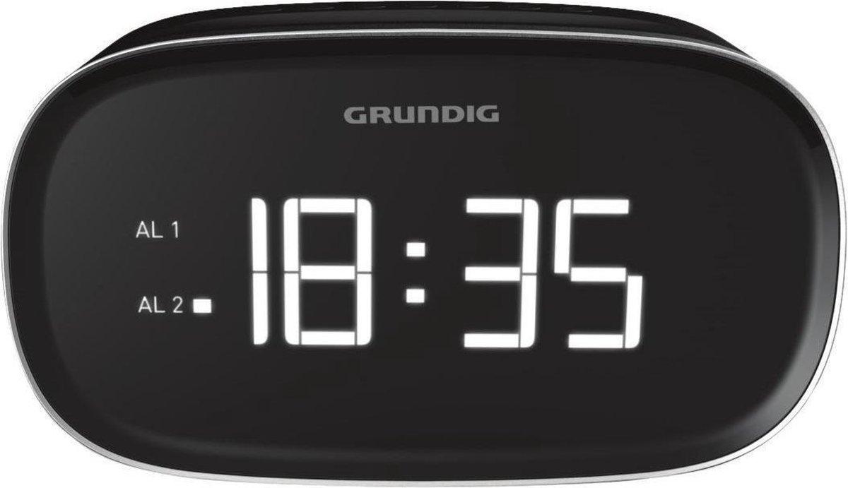 Grundig Sonoclock 3500 BT DAB+ Klok Digitaal Zwart radio