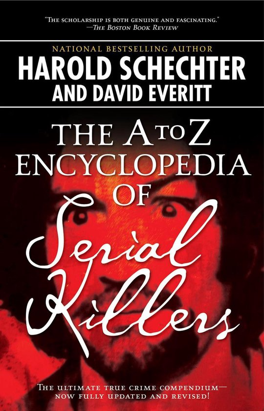 Omslag van The A to Z Encyclopedia of Serial Killers