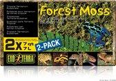 Exo Terra Forest Moss 2-Pack - 2 x 7L