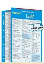 Werkwoordenwijzer Latijn uitklapkaart