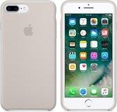 Apple Siliconen Back Cover voor iPhone 8 Plus / 7 Plus - Lichtgrijs