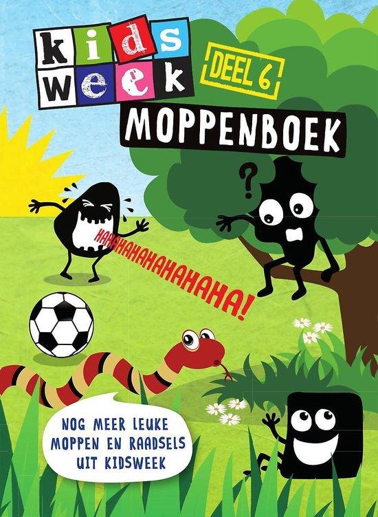 Boek cover Kidsweek 6 -   Moppenboek van Kidsweek (Paperback)